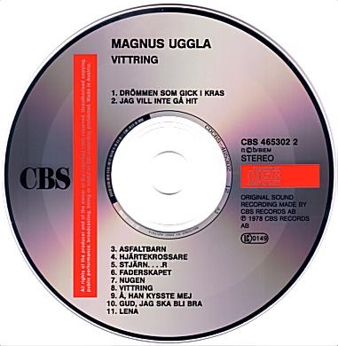 Magnus Uggla - Vittring / Hallå